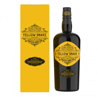 Rhum Yellow Snake 70cl 40°