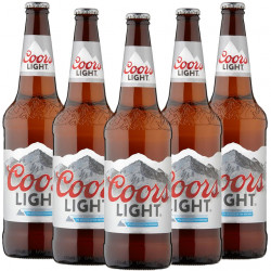 12 Coors Light Pack 33cl 4°