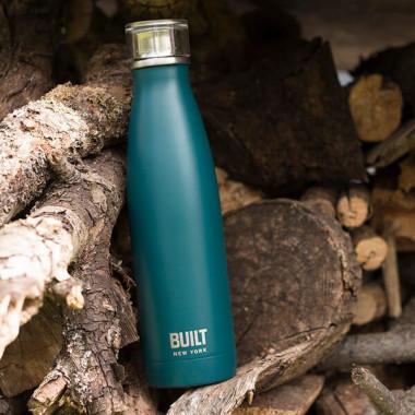 Blue Stainless Steel Bottle 500ml