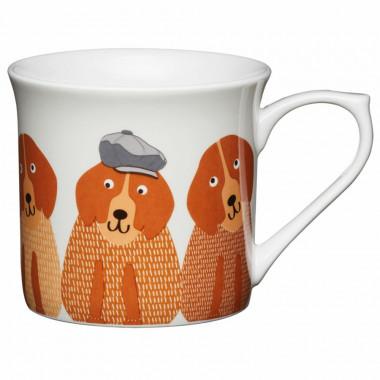 Mug flute chiens 300ml