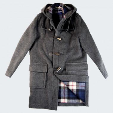 Duffle Coat Martin Gris London Tradition