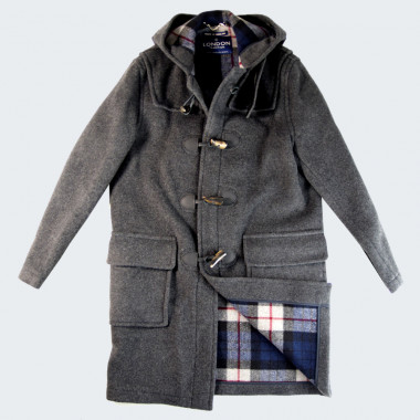 London Tradition Gray Martin Duffle Coat