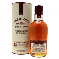 Aberlour 12 Years Old Un-chillfiltered 70cl 48°