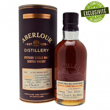 Aberlour 2002 Sherry Butt 70cl 58.8°