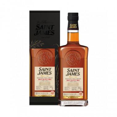 Saint James Cask Strenght 70cl 56.4 °