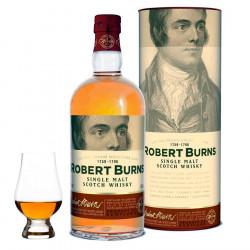 Arran Robert Burns Single Malt 70cl 43° + 1 Verre Glencairn