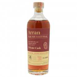 Arran 14 Years Old Private Cask 70cl 53.5°
