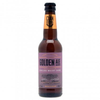 Golden Ale Clan Brewing 33cl 8°