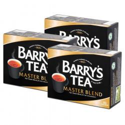 Pack 3 Paquets Barry's Thé Classic Blend 80 sachets 250g