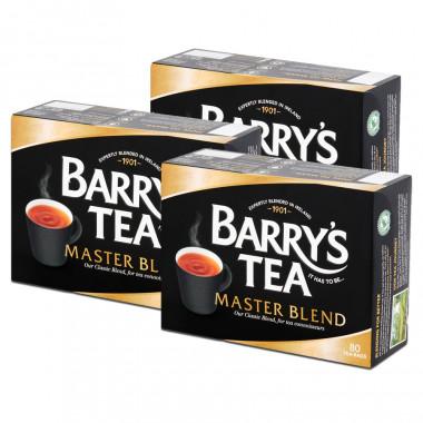 Barry's Thé Master blend 80 sachets 250g