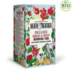 Heath & Heather Morning Time Organic Infusion 40 Tea Bags 40g