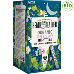 Heath & Heather Night Time Organic Infusion 20 Tea Bags 20g
