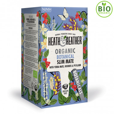 Heath & Heather Infusion Bio Slim Maté 20 Sachets 40g