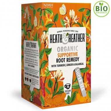 Heath & Heather Turmeric Root Organic Infusion 40 Tea Bags 30g