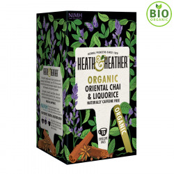 Heath & Heather Infusion Bio Oriental Chaï 20 Sachets