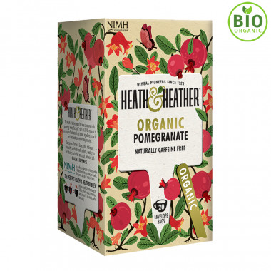 Heath & Heather Herbal Tea Pomegranate 20 Bags