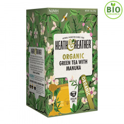 Heath & Heather Green Tea Manuka Honey 20 Bags