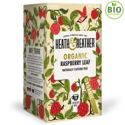 Heath & Heather Raspberry Organic Infusion 40 Tea Bags 40g