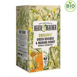 Heath & Heather Green Rooibos & Manuka Honey 20 Bags
