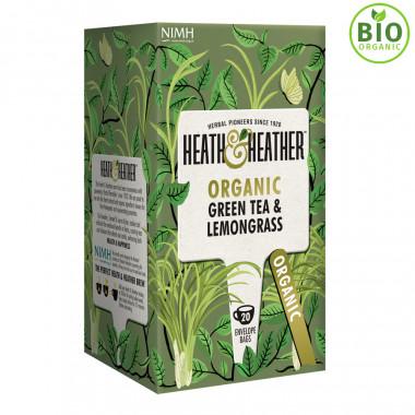 Heath & Heather Green Tea Lemongrass 20 Bags
