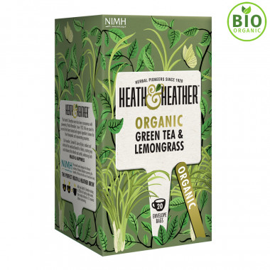Heath & Heather Thé Vert Citronnelle 20 Sachets