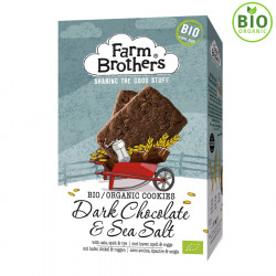 Biscuits Bio Cereales Chocolat Noir Farm Brothers 150g