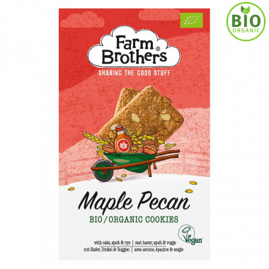 Farm Brothers Maple Pecan Biscuits 150g