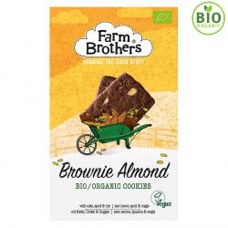Farm Brothers Brownies Almond Vegan Organic Biscuits 150g