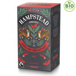 Thé Bio English Breakfast Hampstead Tea 20 sachets