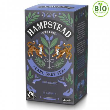 Thé Bio Earl Grey Hampstead Tea 20 sachets