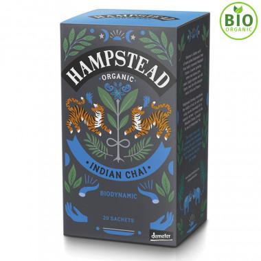 Thé Bio Indian Chai Hampstead Tea 20 sachets