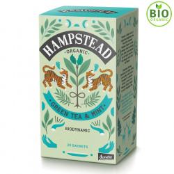 Thé Vert Bio Menthe Hampstead Tea 20 sachets
