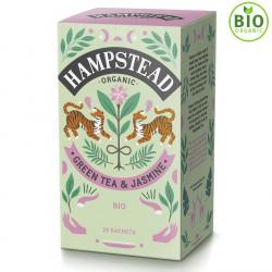Thé Vert Bio Jasmin 20 Sachets Hampstead Tea