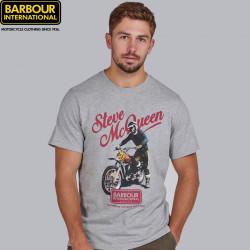 Barbour International Grey Enduro T-shirt