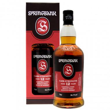 Springbank 12ans 70cl 56.1°