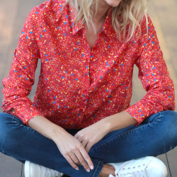 Out Of Ireland Red Printed Shirt