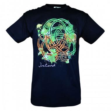 T-Shirt Celtic Knot Black