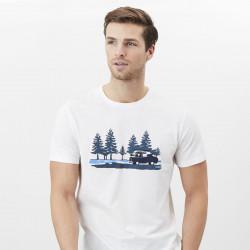 T-Shirt Flynn Écru Tom Joule
