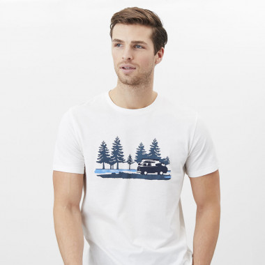 Tom Joule Flynn Ecru T-Shirt