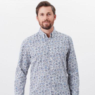 Tom Joule White Flower Print Shirt