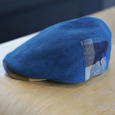 Celtic Alliance he21 Blue Visor and Checkered Patch Cap