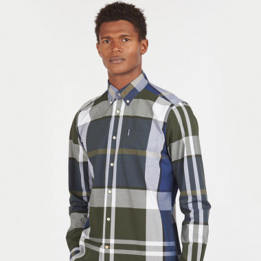 Barbour Sage Tartan Shirt