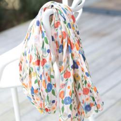 Etole Femme Petites Fleurs sur tige coloris Ecru out of Ireland