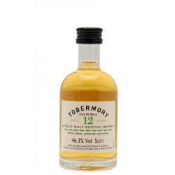 Tobermory 12 Years Old Miniature 5cl 46.3°