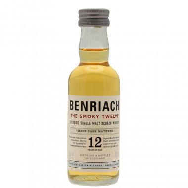 Benriach 12 ans smoky 5cl 46�