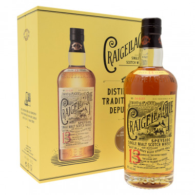 Craigellachie 13 Years Old Gift Box + 2 Glasses 70cl 46°