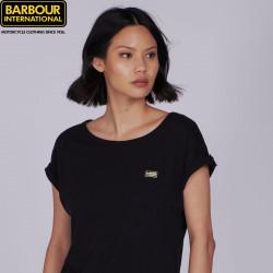 T-shirt Qualify Noir Barbour International