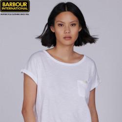 T-shirt Qualify Blanc Barbour International