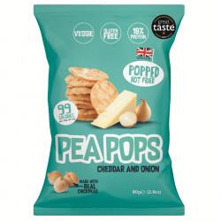 Chips Pois Chiche Cheddar Oignon Pea Pops 80g