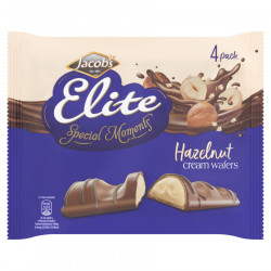 Wafer Elite Spécial Moment Chocolat x4 Jacob's